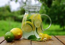 Питье от лимона, лимонад Стоковое Изображение RF
