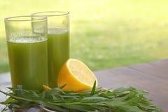 Питье от листьев астрагона Стоковое Изображение RF