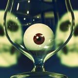 Питье партии Halloween иллюстрация вектора