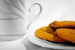 питье печений шоколада обломока Стоковые Изображения RF