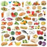 Питье плодоовощ фруктов и овощей еды собрания еды здоровое Стоковые Фото