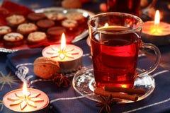 питье рождества горячее стоковая фотография rf
