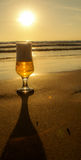 питье сверкная Стоковые Фотографии RF