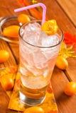 Питье с ромом и водочкой Стоковая Фотография