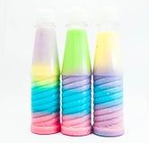 Питье цвета полное Стоковое фото RF