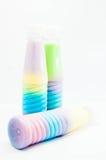 Питье цвета полное Стоковая Фотография