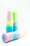 Питье цвета полное Стоковая Фотография RF