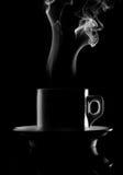 питье чашки горячее Стоковое фото RF