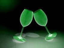 Питье шампанского чашки Стоковые Фото