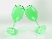 Питье шампанского чашки Стоковые Изображения RF
