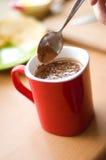 питье шоколада Стоковая Фотография RF
