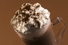 питье шоколада горячее Стоковые Изображения