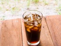 Питье americano льда Стоковое Изображение RF