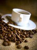 питье coffe Стоковые Фотографии RF