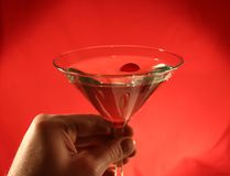 питье martini Стоковые Фотографии RF