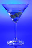 питье martini стоковая фотография rf