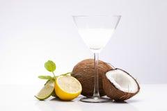 Питье Pina Colada Стоковое Фото