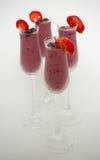 Питье smoothie лета Стоковое Изображение RF