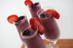 Питье smoothie лета Стоковое Фото