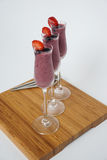 Питье smoothie лета Стоковые Изображения RF