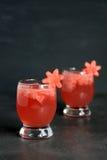 2 питья арбуза Стоковая Фотография RF