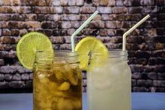 2 питья лета Стоковое фото RF