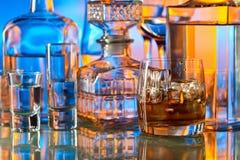 Пить в баре стоковые изображения