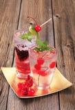 пить заморозили Стоковые Фото