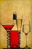 пить коктеила Стоковое Фото