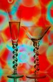 пить коктеила Стоковая Фотография