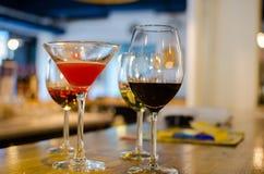 Пить ресторана хорошие Стоковые Фотографии RF