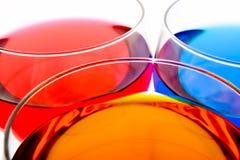 пить цвета Стоковые Фото