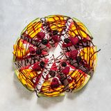 Пицца арбуза стоковые изображения