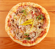 Пицца ветчины Стоковое Изображение