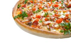 пицца вкусная стоковое фото rf