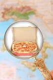 Пицца в Италии стоковое фото