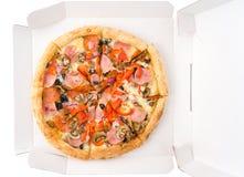 Пицца в коробке Стоковое Изображение RF