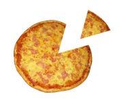 пицца Гавайских островов Стоковое Фото