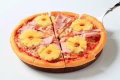пицца Гавайских островов стоковые фото