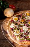 Пицца для обеда стоковые фотографии rf