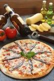 пицца камс стоковое изображение rf