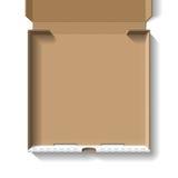 пицца коробки открытая Стоковые Фотографии RF