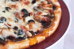 пицца крупного плана Стоковые Изображения