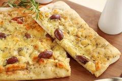 Пицца лакомки Стоковое Изображение