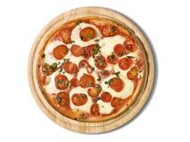 пицца маргариты стоковое фото rf