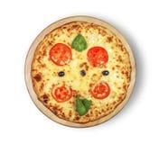 Пицца Маргариты Стоковое Фото