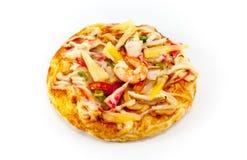 Пицца морепродуктов Стоковые Фото