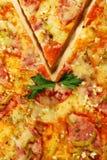 пицца мяса Стоковые Изображения RF
