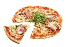 Пицца мяса Стоковое Фото