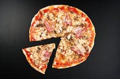 Пицца мяса Стоковая Фотография RF